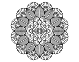 Dibujo De Mandala 34 Para Colorear Dibujos Net