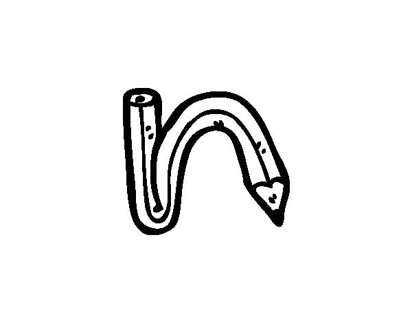 Dibujo De N Minúscula Para Colorear Dibujos Net