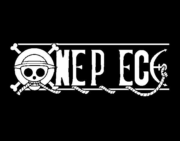 Dibujo De One Piece Logo Para Colorear Dibujos Net