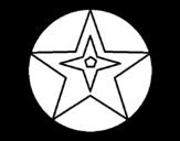 Dibujo De Estrella De Belén Para Colorear Dibujosnet