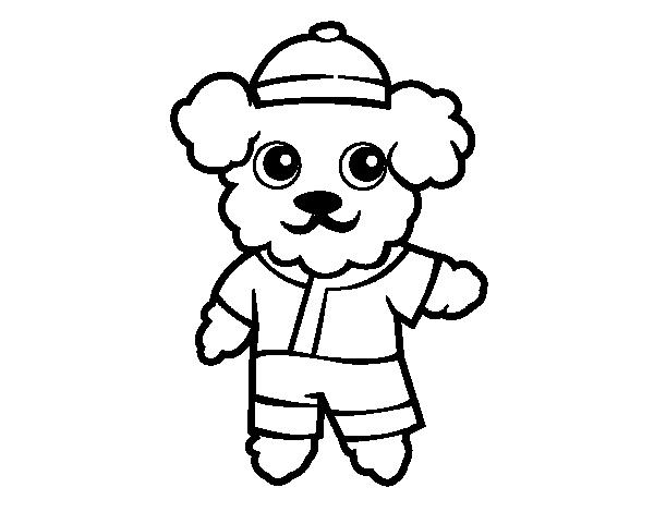 Dibujo De Perro Marinero Para Colorear Dibujos Net