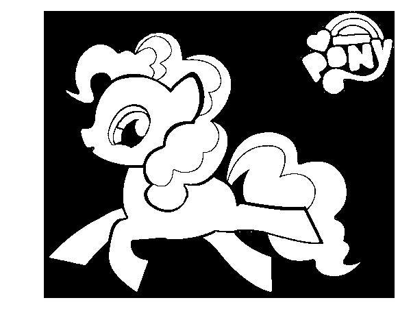 Dibujo de Pinkie Pie para Colorear - Dibujos.net