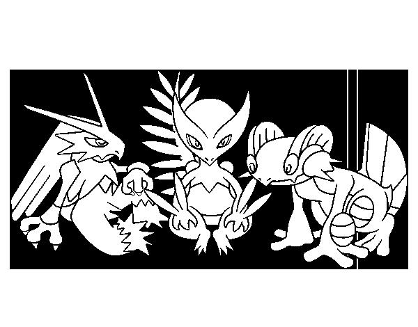 Dibujo De Pokemons Para Colorear Dibujos Net