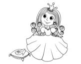 Dibujos De Princesas Para Colorear Dibujosnet