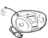 Dibujos De Radios Para Colorear Dibujosnet