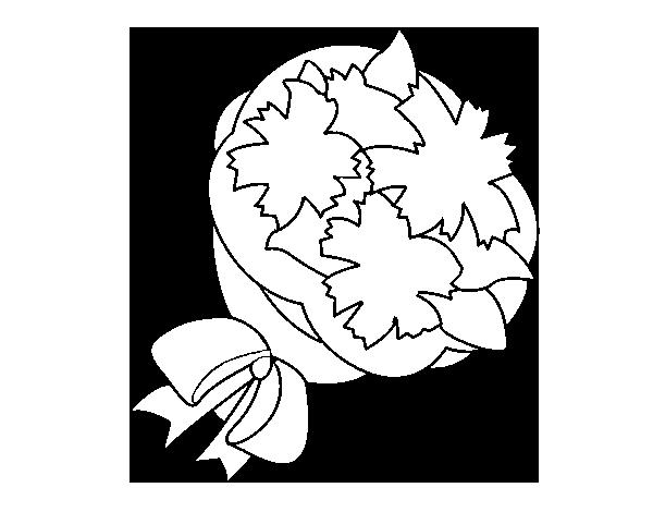 Dibujo de Ramo de trébol para Colorear - Dibujos.net