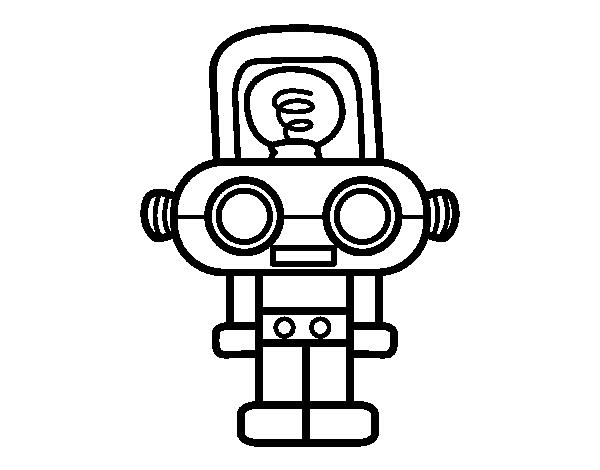 Imagenes De Robots Para Dibujar Faciles Imagesacolorierwebsite