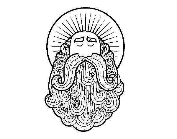 Dibujo De Santo Para Colorear Dibujos Net