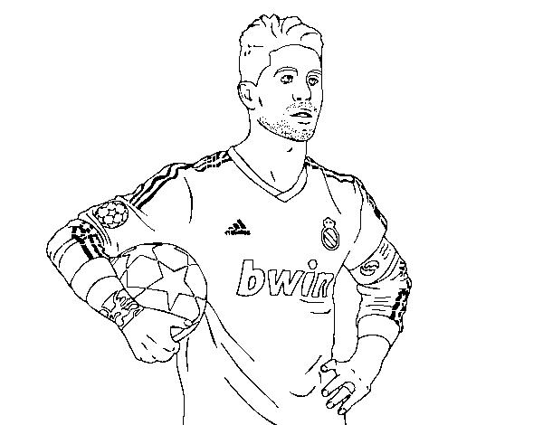 Dibujos Del Real Madrid Para Imprimir Y Colorear