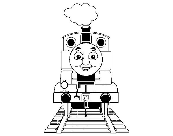 Dibujo de Thomas de Thomas y sus amigos para Colorear - Dibujos.net