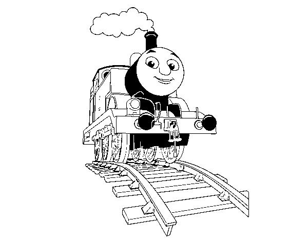 Dibujo de Thomas en marcha para Colorear - Dibujos.net