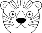 Dibujos De Tigres Para Colorear Dibujosnet