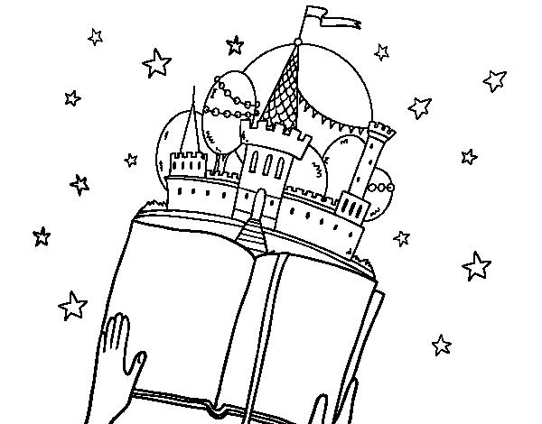 Dibujo de Un cuento fantástico para Colorear - Dibujos.net