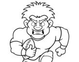 Dibujos De Fútbol Americano Para Colorear Dibujosnet