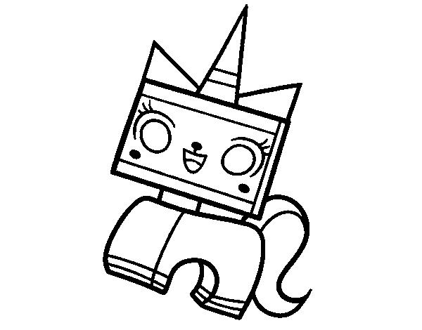 Dibujo de Unikitty para Colorear - Dibujos.net